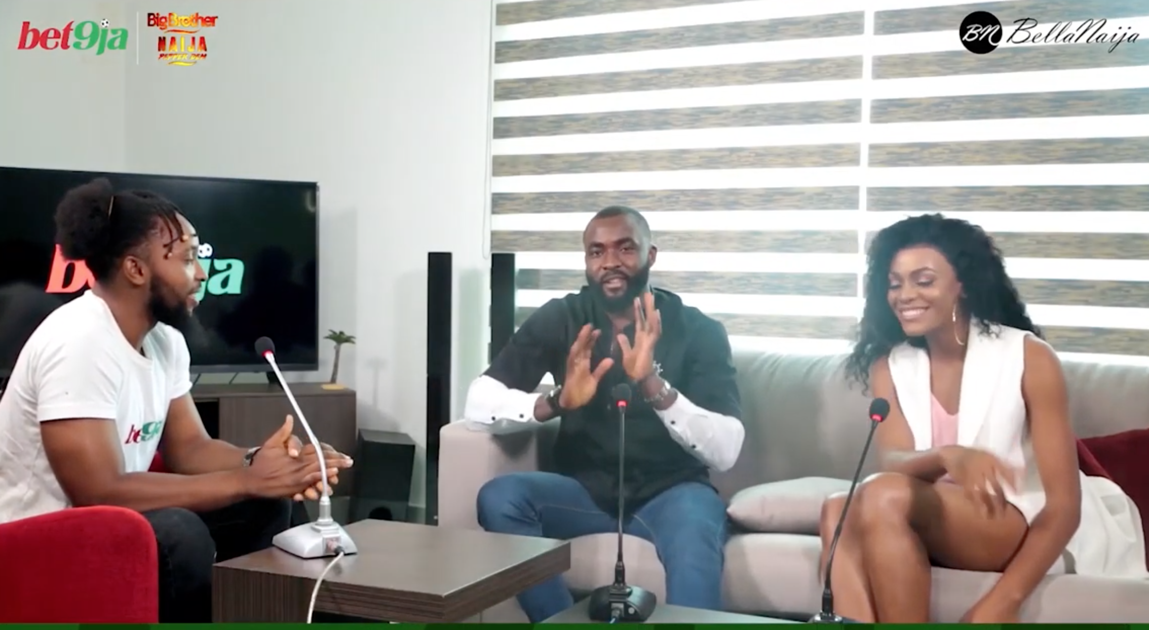 Watch Jackye & Gedoni Discuss Life in #Bet9jaBBN House, Future Plans 'After The House'
