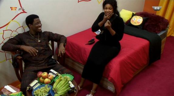 #Bet9jaBBN: Tacha & Seyi's Dramatic Fight In The Kitchen {Video}