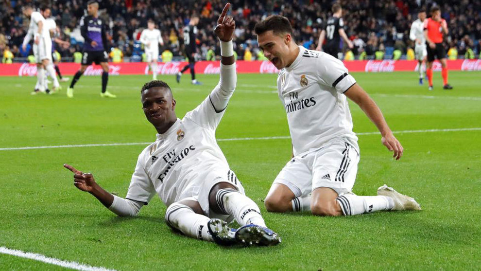 #LaLiga: Vinicius Junior And Lucas Vazquez Hopeful Ahead Of Madrid Derby