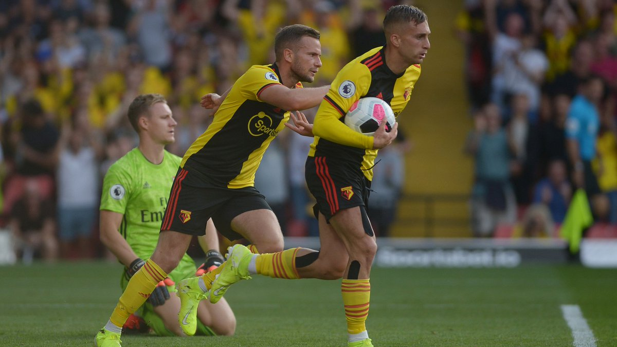 #EPL: Watford Fight Back To Salvage Draw Against Arsenal