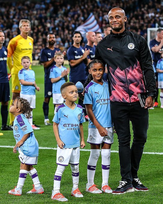 "Vincent Kompany Hails ""Special Day"" After Man City Testimonial"