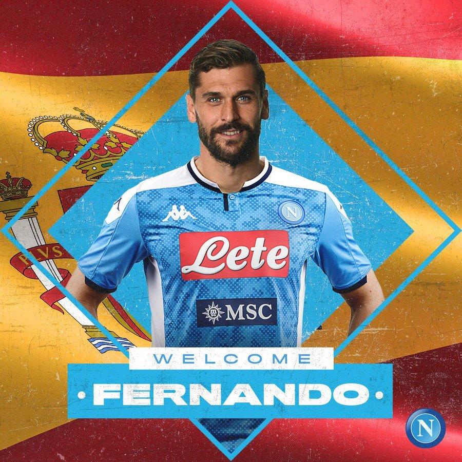 #TransferNews: Fernando Llorente completes Napoli Move