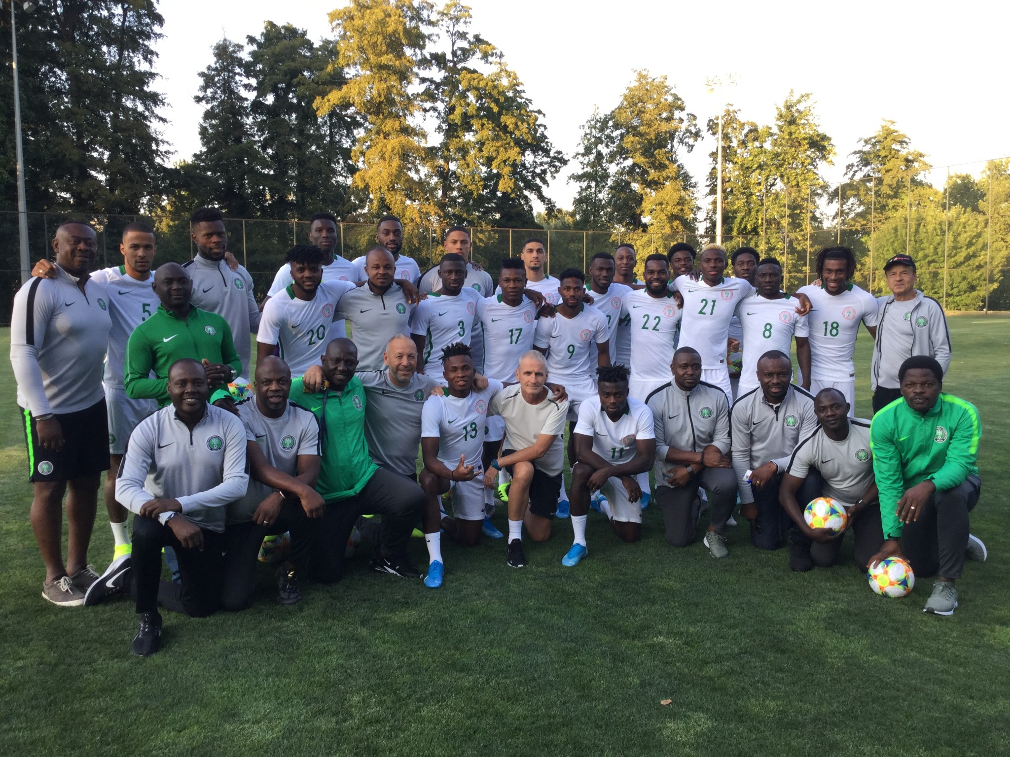 Super Eagles Arrive Singapore Today for Brazil Friendly