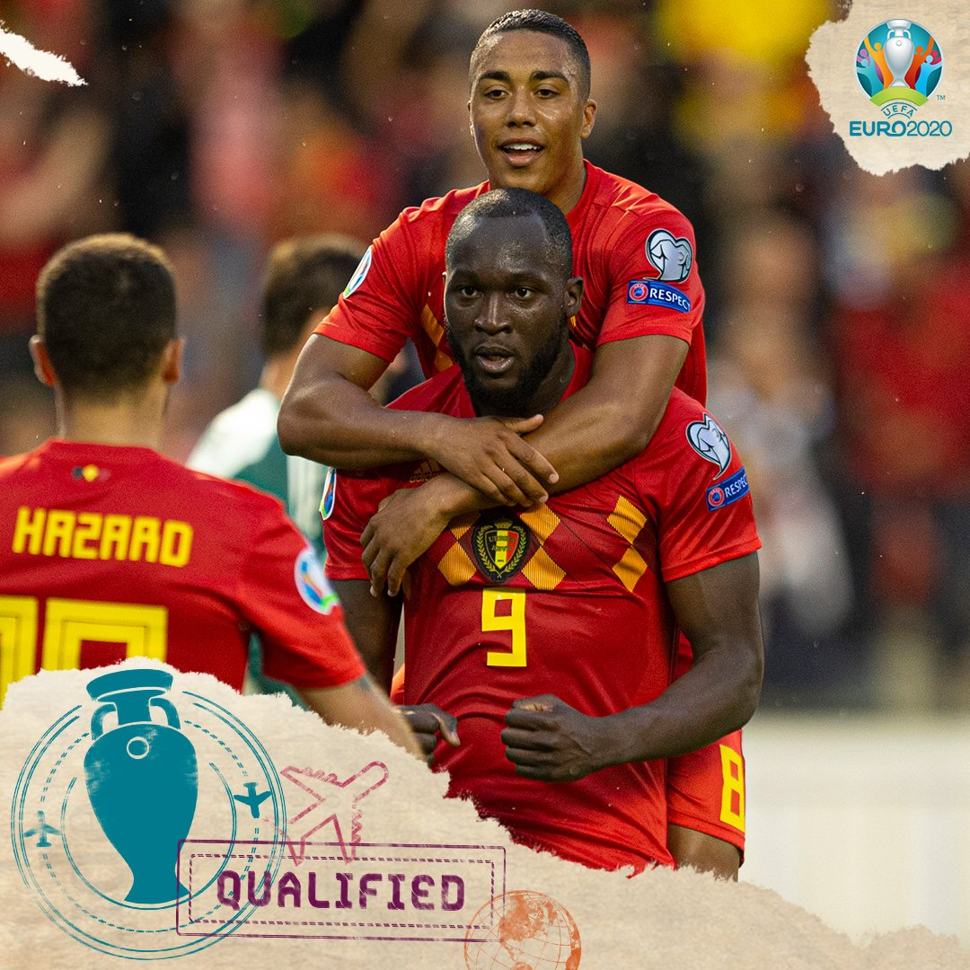 Belgium Put Nine Past San Marino To Reach Euro 2020