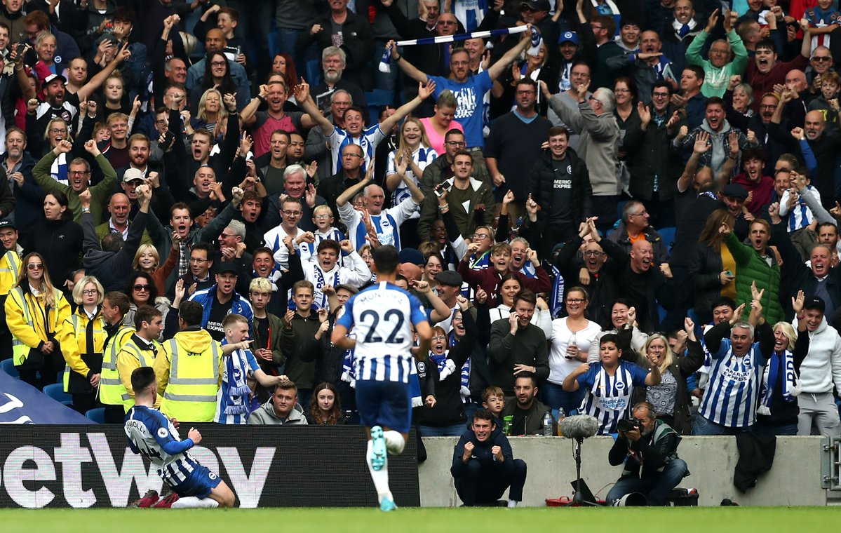 #EPL: Brighton Pile Pain On Miserable Tottenham