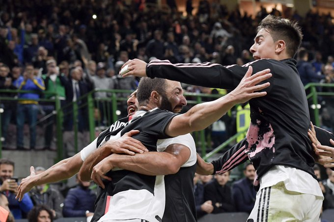 #SerieA: Juve Go Top As Higuain Seals Victory At Inter