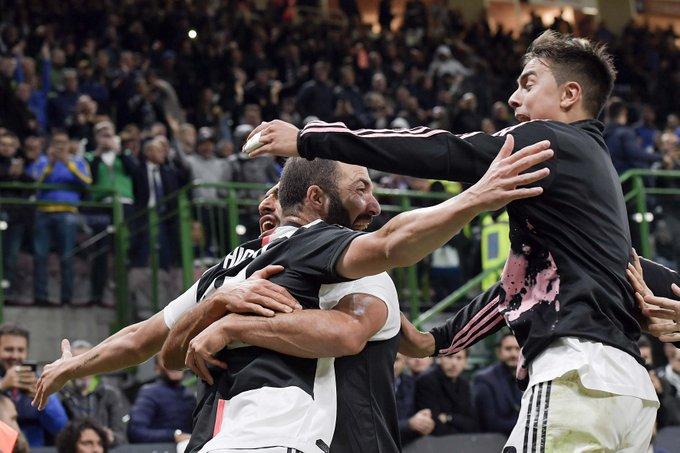 #SerieA: Juve Go Top As Higuain Seals Victory At Inter