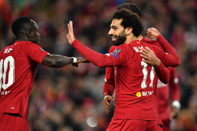 #UCL: Klopp Demands Improvement As Salah Double Saves Liverpool From Salzburg Shock