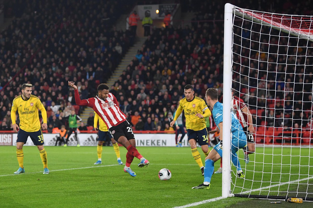 #EPL: Sheffield United End Arsenal's Unbeaten Run