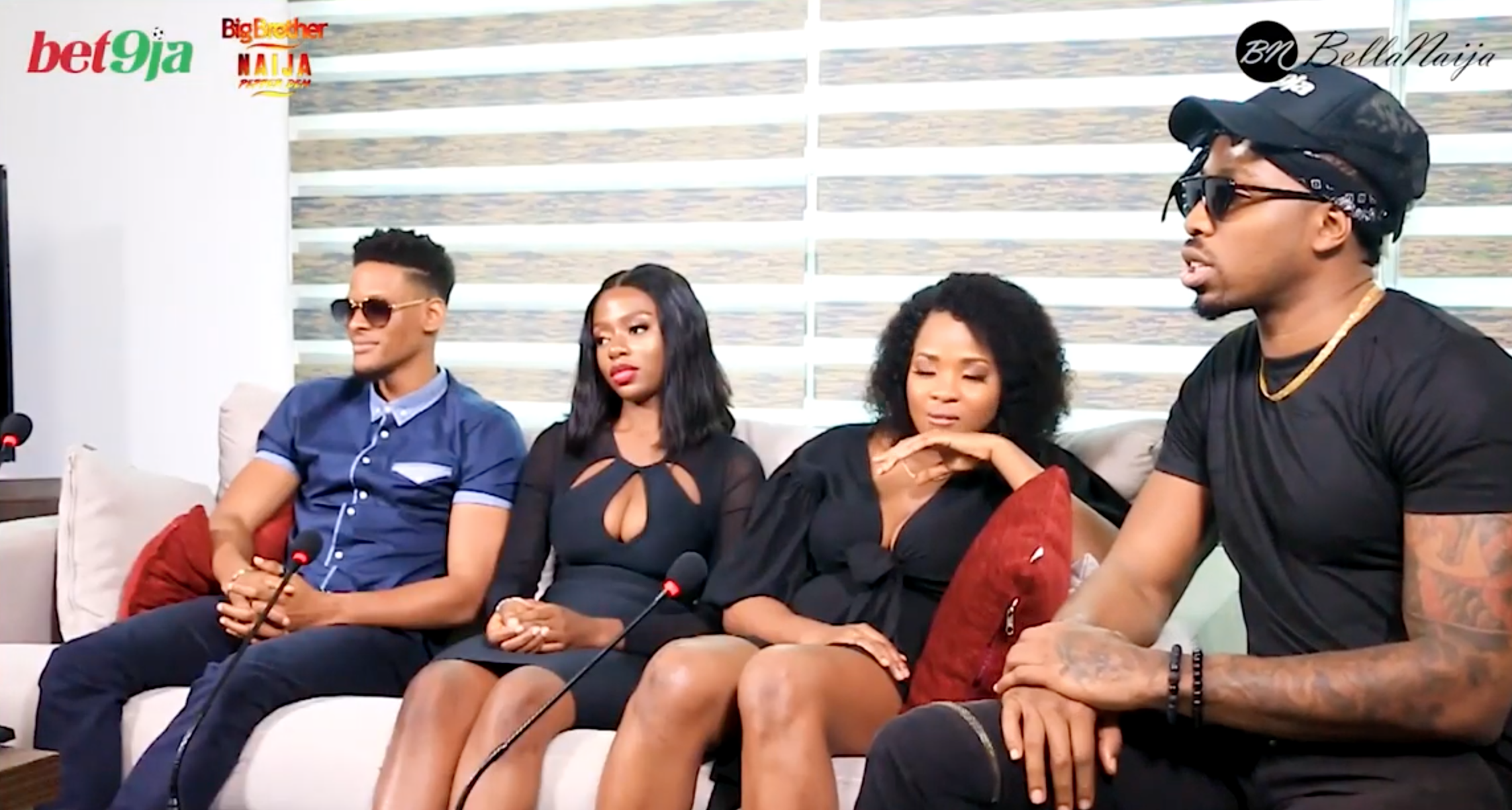 Watch #Bet9jaBBN 'After The House' With Cindy, Elozonam, Ike And Diane Part 1