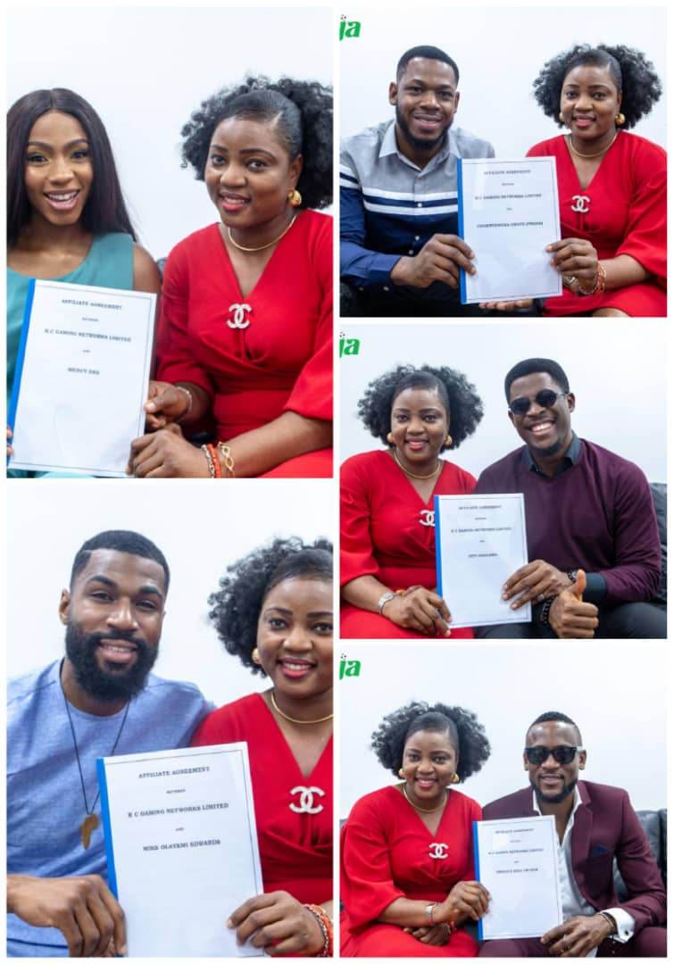 Mercy, Mike, Frodd, Seyi & Omashola Join The List Of Bet9ja Affiliate Brand Ambassadors