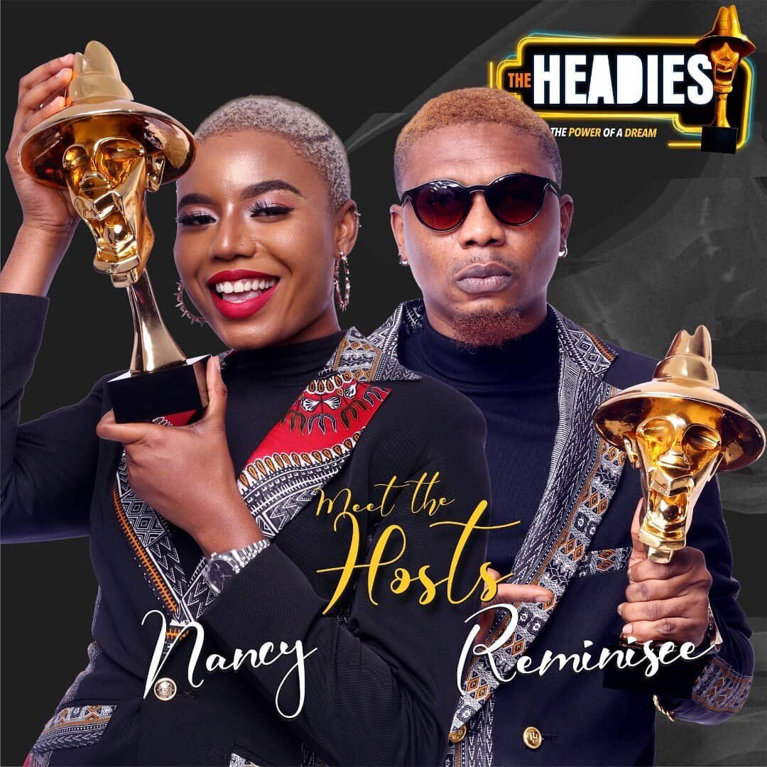 Reminisce & Nancy Isime To Host Bet9ja HEADIES 2019