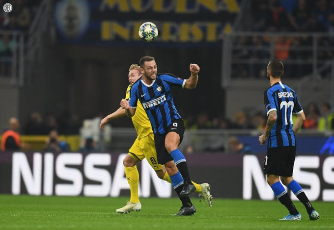 Inter Milan Beat Dortmund To Boost UCL Last 16 Hopes