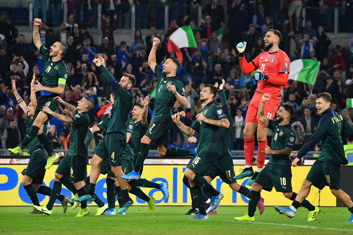 Perfect Italy Qualify For Euro 2020