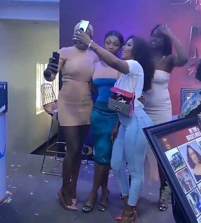 #Bet9jaBBN: Mercy & Tacha Reconcile! {Video}
